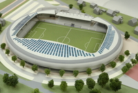 Design alternative of the stadium